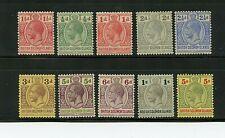 Solomon Islands #23//39 (SO405) King George V, M, LH, FVF, CV$131.75