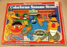 1977 Sesame Street Colorforms ~ Mostly Complete Set #8104