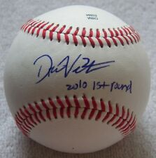 "Washington Nationals Drew Vettleson Auto ROMILB Baseball Ins "" 2010 1st Round """
