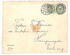 BF169 1907 DENMARK Varde Uprated STATIONERY