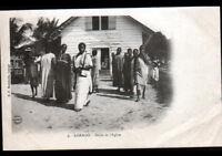 LOANGO (CONGO) Sortie de MESSE / EGLISE avant 1904