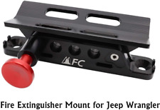 New listing Adjustable Fire Extinguisher Holder Mount With 4 Clamps Fit For Jeep Wrangler Ut