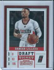 2018 Panini Contenders Basketball Draft Ticket Damian Lillard /99