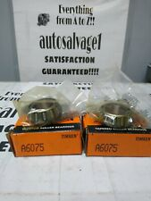 Timken A6075 Roller Bearing Cone Lot Of 2 Nos