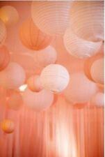 """Lámpara de papel 1 X 36 Cm (14"""") Pantalla de Lámpara de Techo de luz de papel de melocotón (2071)"""