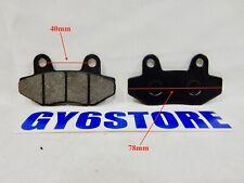 DISC BRAKE PAD SET FOR TAOTAO (VIP QMB139 50cc AND POWERMAX GY6 150cc) *TYPE 1*