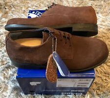 Birkenstock Jaren Men's Size 9/EU 42 Mocha Suede Casual Derby Shoes KB-695