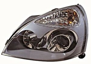 Renault Clio V6 2001-2005 Xenon Electric Gray Headlight Front Lamp LEFT LH