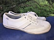 PRO KEDS White with Stripe Low Tops Athletic Sneakers Womens Shoes Size 10 👟3