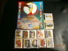 Panini Fifa WM 2002 Japan Korea Leer-Album + Komplettsatz Bilder 1-576 TOP *RAR*