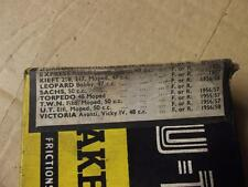 VICTORIA VICKY OTHERS (SEE PIC FOR OTHERS) 1956/58 BRAKE LININGS 4