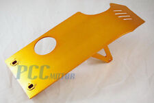 GOLD SKIDPLATE SKID PLATE PIT DIRT BIKES XR50 CRF50 SDG 70 110 125cc I SP07