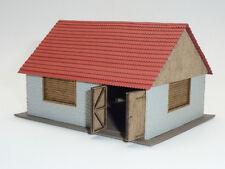 N Modelltec /IGRA 60 13200 12 Lasercutbausatz: Scheune / Stall