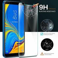 2X Schutzpanzer Glasfolie Samsung Galaxy A7 2018 Display Schutz Folie Echtglas
