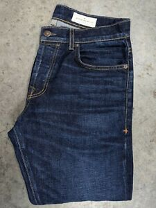 Imogene + Willie Men's Barton Slim Ludlow Denim Jeans Size 31 Cone Mills Denim