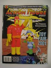 Tomart's Action Figure Digest #86 April 2001 New Simpsons, Lord of the Rings,etc