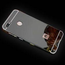 Miroir / Pare-Chocs en Aluminium 2 Pièces Noir pour Huawei Y6 2018 Pochette Neuf