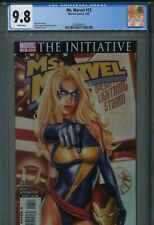 Ms. Marvel 13 CGC 9.8 Greg Horn The Initiative Iron Man New Avengers A.I.M.