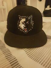 NBA Minnesota Timberwolves New Era 59FIFTY Fitted Cap Hat Headwear