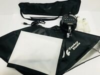 Cowboy Studios Light Kit - TRICOLOR Light, 20x20 Soft Box and Case