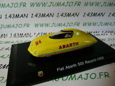 IT92M Voiture 1/43 Hachette ABARTH collection : FIAT 500 Record 1958 Pininfarina