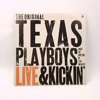 The Original Texas Playboys Live and Kickin' LP (ST 11725) M NM