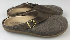 Giesswein Ammern 43 EU (Womens 10.5 or Mens 9) Brown Wool Comfort Slippers Shoes