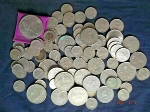 JOB  LOT  OF  SILVER  UNITED  KINGDOM  COINS
