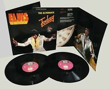 """Elvis Presley THE ALTERNATE """"TODAY"""" 2 LP HEPCAT LP 002 BLACK VINYL IN STOCK NOW"""