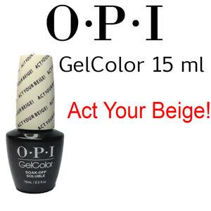 OPI O.P.I GelColor Gel Color Soak Off UV LED Gel Polish 15ml 0.5 oz ВЕST PRICE!