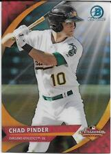 2016 BOWMAN CHROME ARIZONA FALL LEAGUE CHAD PINDER ATHLETICS FREE SHIPPING