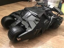 DC BATMAN BEGINS cavaliere oscuro Mattel FILM BATMOBILE TUMBLER Custom 1:18