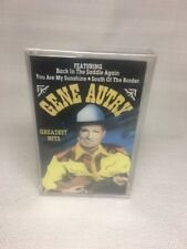 (CK) GENE AUTRY Greatest Hits Cassette; Factory Sealed; Free US Shipping
