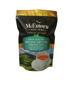 McEntee's ORGANIC SENCHA GREEN Tea - 150g Bag - From Ireland