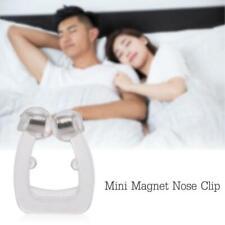 Anti-Schnorch Micro CPAP Sleep Apnea Device Stop Snoring Silikon-Nase-Clips