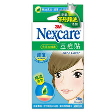 [3M NEXCARE] Ultra Thin Acne Dressing Pimple Patch Stickers TEA TREE OIL 28pcs