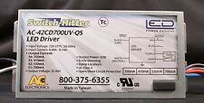 AC ELECTRONICS AC-42CD700UV-QS LED DRIVER! SWITCH HITTER!!