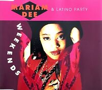 Mariam Dee & Latino Party Maxi CD Week Ends - France (VG+/EX+)