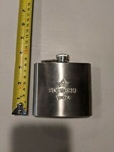 SOBIESKI Vodka 5 oz Stainless Steel Flask