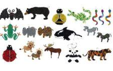 Figuras decorativas animales de cristal para el hogar