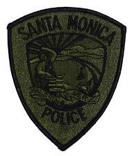 SANTA MONICA – SWAT - CALIFORNIA CA Sheriff Police Patch SUBDUED MINERVA SUN~
