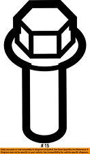Ford Oem Foglight Fog Driving Light Lamp-Lamp Bracket Bolt W706599S439