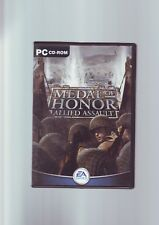 MEDAL OF HONOR : ALLIED ASSAULT - PC GAME - ORIGINAL & COMPLETE WITH MANUALS VGC