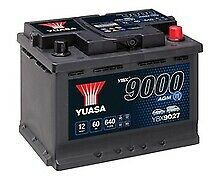 Yuasa YBX9027 Start-Stop Battery