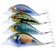 4PCS Minnow Fishing Lures Crankbaits Set Fishing Hard Baits Swimbaits Boat Perch