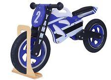 Kidzmotion 'Yammy' Wooden Motorbike Balance Bike SRP £110 with stand 2017 model
