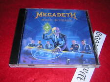 Megadeth-Rust in Peace, CD 1990, Italy Press.
