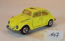 Majorette 1/60 Nr. 202 VW Volkswagen 1302 Limousine gelb #147