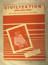 Civilization (Bongo, Bongo, Bongo) - Bob Hilliard & Carl Sigman - 1947