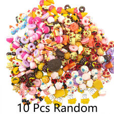10Pcs Fast food&Rilakkuma Squishy Charms Squeeze Toy Collection Lot